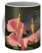 Consider The Lilies How They Grow Coffee Mug