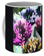 Containers Of Mixed Iris At The Farmer's Market Coffee Mug