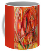 Contemporary Painting Three Coffee Mug