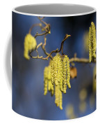 Contorted Hazel Catkins Coffee Mug