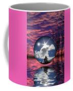 Contrasting Skies Coffee Mug by Shane Bechler