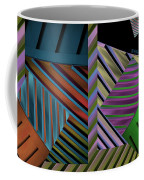 Conundrum Of Color Coffee Mug by Robert Meanor