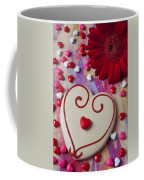 Cookie And Candy Hearts Coffee Mug by Garry Gay