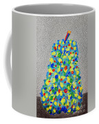 Cool Crazy Pear Abstract Painting Coffee Mug
