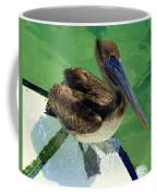 Cool Footed Pelican Coffee Mug