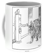 Coolidge Cartoon, 1925 Coffee Mug