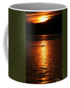 Coots In The Sunset Coffee Mug
