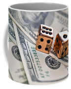 Copper Dice And Money Coffee Mug