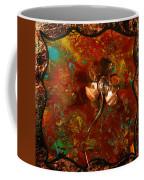 Copper Flower Coffee Mug