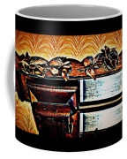 Copper Roses Bands Of Steel Coffee Mug