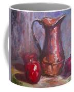 Copper Study Coffee Mug by Patsy Walton