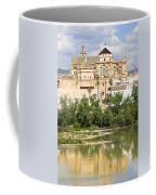 Cordoba Cathedral And Guadalquivir River Coffee Mug