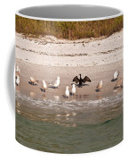 Cormorant Stands Out Coffee Mug