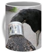 Cormorant With Radio Collar Coffee Mug