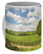 Corn Growing In Maine Farm Field Coffee Mug