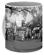 Corner Club 4 Black And White-mardi Gras Coffee Mug
