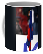 Corner Flag Of Camp Nou Coffee Mug