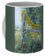 Corner Of Lace And Vine Coffee Mug