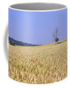 Cornfield With Poppies Coffee Mug