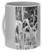 Cornstalks Black And White Coffee Mug