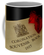 Coronation Book With Roses Coffee Mug