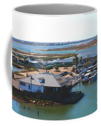 Corpus Christi Bay Towards Mustang Island Texas Coffee Mug