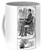 Correct Writing Position Coffee Mug