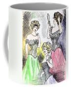 Corset Ladies Coffee Mug