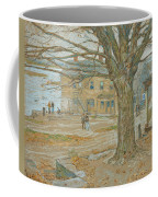 Cos Cob In November Coffee Mug by Childe Hassam