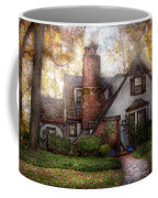 Cottage - Westfield Nj - Grandma Ridinghoods House Coffee Mug by Mike Savad