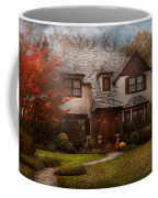 Cottage - Westfield Nj - The Country Life Coffee Mug by Mike Savad