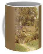 Cottage At Farringford Isle Of Wight Coffee Mug