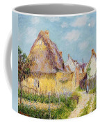 Cottage At Le Vaudreuil Coffee Mug by Gustave Loiseau