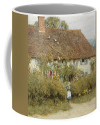 Cottage At West Horsley Surrey Coffee Mug