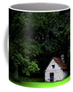 Cottage In The Woods Coffee Mug by Fabrizio Troiani