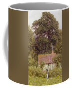 Cottage Near Brook  Coffee Mug