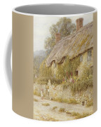 Cottage Near Wells Somerset Coffee Mug by Helen Allingham