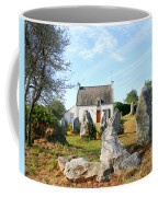 Cottage With Standing Stones Coffee Mug
