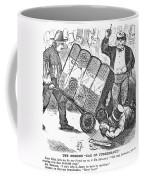 Cotton Loan Cartoon, 1865 Coffee Mug