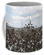 Cotton Ready For Harvest In Alabama Coffee Mug