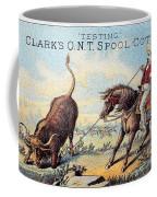 Cotton Thread Trade Card Coffee Mug