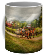 Country - Horse - Life's Pleasures Coffee Mug