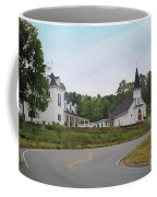 Country Church In Texture Coffee Mug