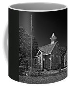 Country Church Monochrome Coffee Mug