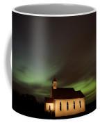 Country Church Night Photography Coffee Mug