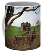 Country Home And Wagon Coffee Mug by Athena Mckinzie