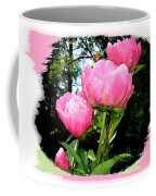 Country Peonies Coffee Mug