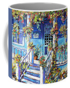 Country Porch And Flowers By Prankearts Coffee Mug