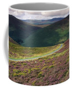 Country Road Passing Through A Coffee Mug