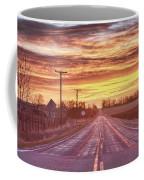 Country Road Sunrise Coffee Mug
